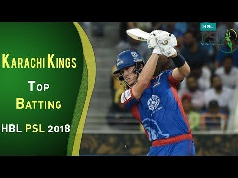 Karachi Kings  Batting | Lahore Qalandars Vs Karachi Kings  | Match 8 | 26 Feb | HBL PSL 2018 | PSL
