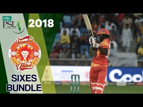 Islamabad United  Sixes | Quetta Gladiators Vs Islamabad United  | Match 9 | 28 Feb| HBL PSL 2018