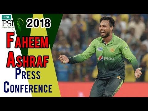 HBL PSL 2018 | Fahim Ashraf Post Match Press Conference | Islamabad United Vs Karachi Kings