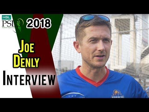 Joe Denly Interview  | Multan Sultans Vs Karachi Kings | Match 22 | 10 March | HBL PSL 2018