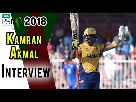 Kamran Akmal Interview | Peshawar Zalmi Vs Karachi Kings | Match 27 | 15 March | HBL PSL 2018