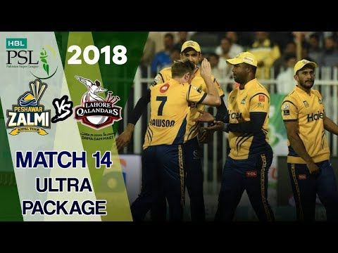 Ultra Moments Package | Lahore Qalandars Vs Peshawar Zalmi  | Match 14 | 3rd March | HBL PSL 2018