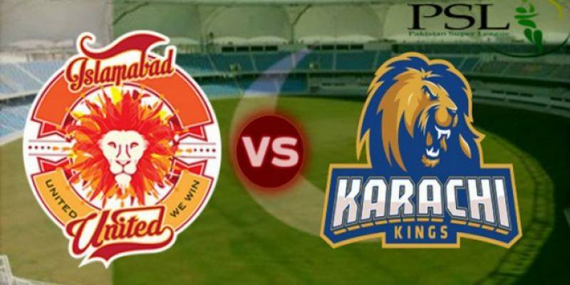 Karachi Kings vs Islamabad United 15th Match Mar 4, 2018 Live Streaming