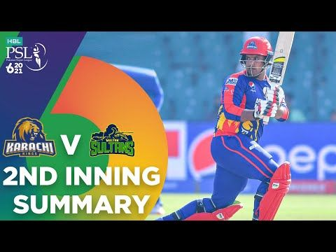 2nd Inning Summary | Karachi Kings vs Multan Sultans | Match 9 | HBL PSL 6 | MG2T