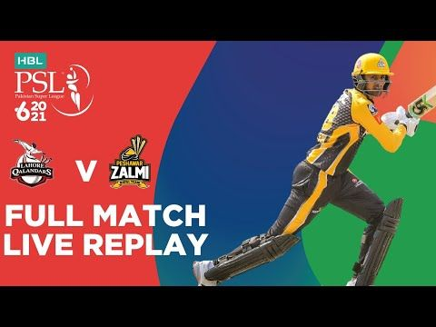 FULL MATCH REPLAY – Lahore Qalandars vs Peshawar Zalmi | Match 2 | HBL PSL 6