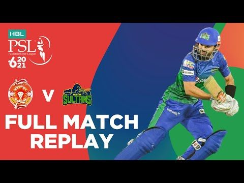 FULL MATCH REPLAY – Islamabad United vs Multan Sultans | Match 3 | HBL PSL 6