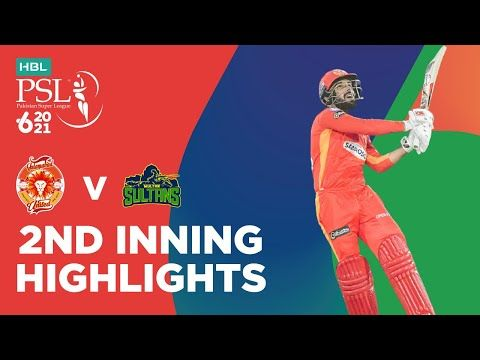 2nd Inning Highlights | Islamabad United vs Multan Sultans | HBL PSL 2021 | Match 3 | MG2T