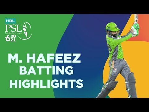 Mohammad Hafeez Batting Highlights | Lahore vs Quetta | Match 4 | HBL PSL 6 | MG2T