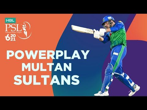 Multan Sultans Powerplay | Peshawar Zalmi vs Multan Sultans | Match 5 | HBL PSL 6 | MG2T
