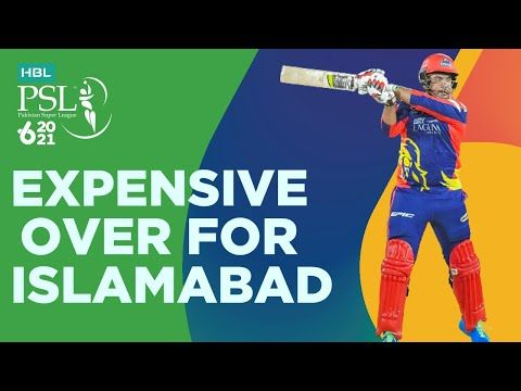 Expensive Over For Islamabad United | Karachi Kings vs Islamabad United | Match 6 | HBL PSL 6 | MG2T