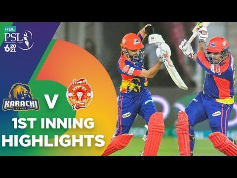 1st Inning Highlights | Karachi Kings vs Islamabad United | Match 6 | HBL PSL 6 | MG2T