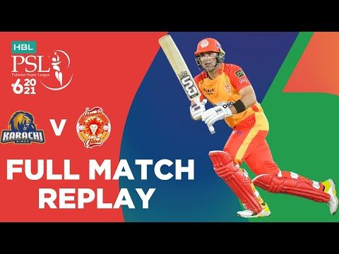 FULL MATCH REPLAY – Karachi Kings vs Islamabad United | Match 6 | HBL PSL 6