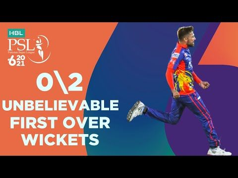 M.Amir Unbelievable First Over Wickets | Lahore vs Karachi | HBL PSL 6 | Match 11 | MG2T
