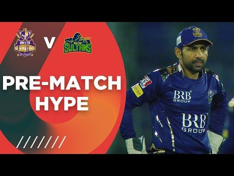 Pre-Match Hype | Quetta Gladiators vs Multan Sultans | HBL PSL 6 2021 | Match 14 | MG2T